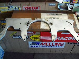 Troyer front engine plate / used / asphalt modified