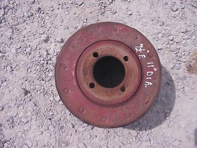 Farmall M Mv H Hv Sm Tractor Original Ih Paper Belt Pulley Real Nice 11