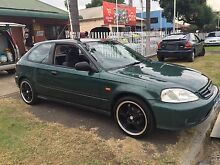 1999 Honda Civic Hatchback Alloys Manual 3 MNTH REGO+3YR WARRANTY Ingleburn Campbelltown Area Preview