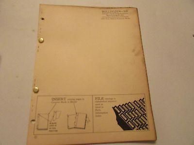 John Deere Pc-627 Backhoe Bulldozer Blade 301 Parts Catalog Manual