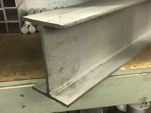 "4"" x 6"" x 31.875"" Long x 1/4"" Wall 304 Stainless Steel I-Beam"