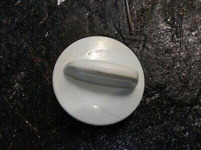 Whirlpool W10453946 White Washer Dryer Knob Used -
