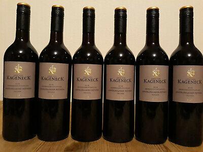 (8,00€/1L.) 6 Flaschen Graf von Kageneck Oberrimsinger Attilafelsen Rotwein troc