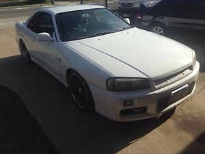 R34 skyline manual coupe turbo Goodna Ipswich City Preview