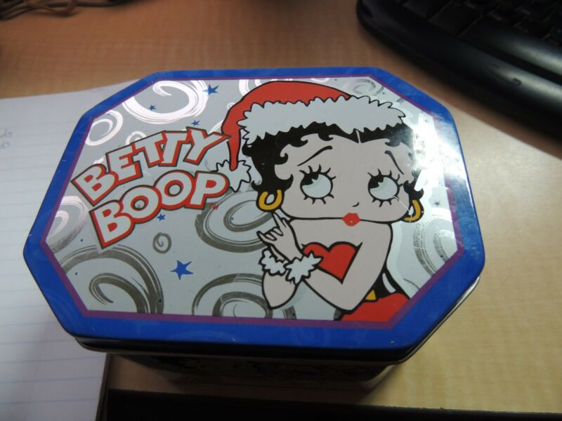 2001 KING FEATURES TM HEARST BETTY BOOP TIN BOX wc 12224