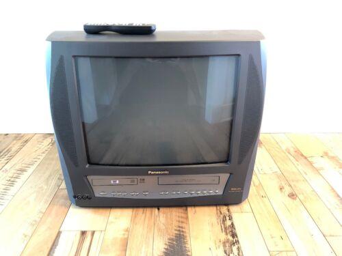 "Panasonic Model PV-DM2093 20"" CRT TV DVD VCR FM Tuner Combo W/Remote tested!"