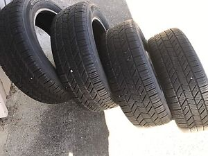Set of 205/55/16 all weather tires