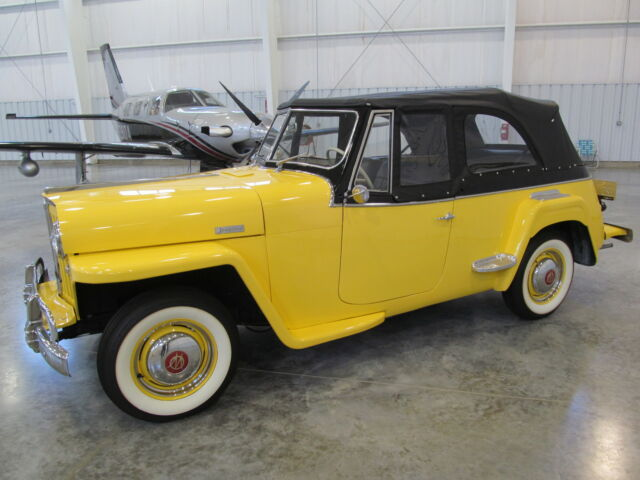 Willys Jeepster JEEPSTER * FRAME OFF RESTORATION * FINEST ANYWHERE * FLA