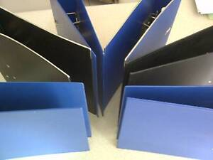 BINDERS 3 BLACK & 3 BLUE Frenchs Forest Warringah Area Preview