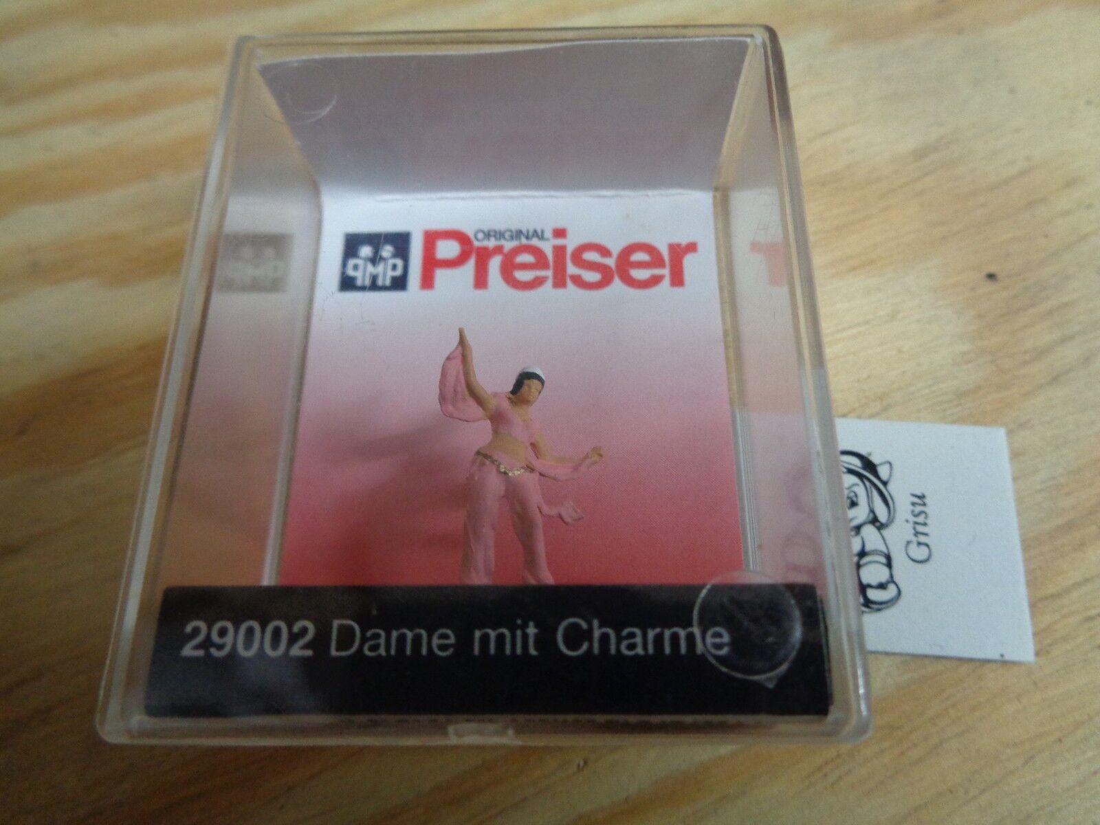 H0 Preiser 29002 Dame mit Charme. Figur. OVP