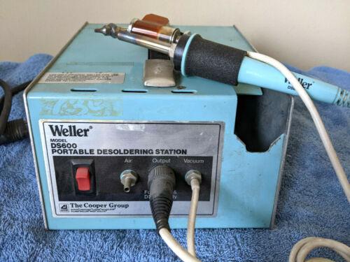 Weller DS600 Portable Desoldering Station w/ DS601P & EC234 Iron
