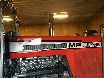 Massey Ferguson Mf 2745 Hood Decal Set