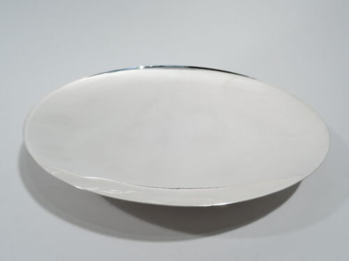 Cartier / Worden Munnis Plate - 32 - Footed Serving - American Sterling Silver