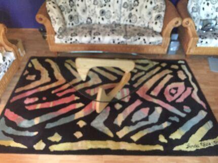 Linda Jackson designer rug $350