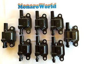 LS2 COIL PACK FULL SET OF 8 VZ VE 6 LITRE L76 L98 LS3 V8 GTO IGNITION COMMODORE