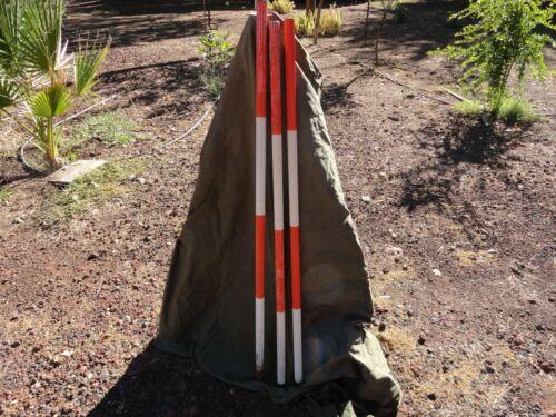 Dietzgen Fluted Aluminum Range Pole 12