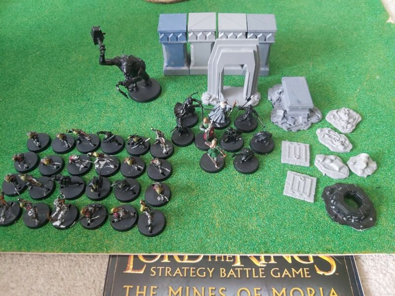 Lord of the rings warhammer Mines Of Moria Lot