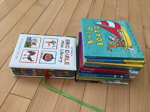 Eric Carle Library and 10 Tony Milton/Ant Parker books