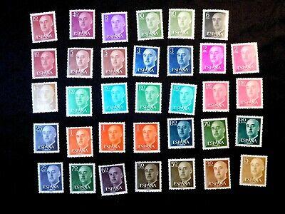 SPAIN Stamp Lot Scott 815-816, 818, 821, 823-828, 830-832, 835 (2 each) + 5 more MNH