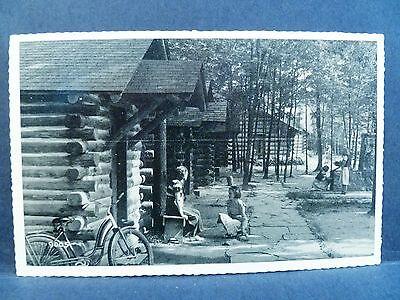 Postcard Pa Clearfield Dubois Elliott State Park Cabins