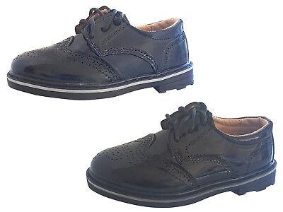 Kinderschuhe festliche Jungen Schuhe Lackschuhe Kommunion Hochzeit Gr. 25 bis 36 ()