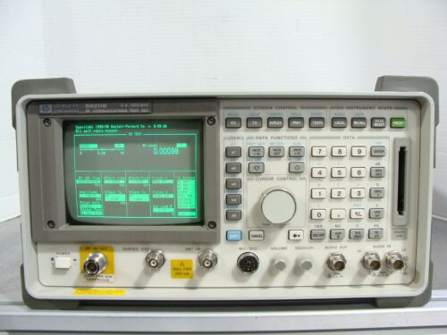 HP Agilent 8920B RF Communications Test Set .4-1000Mhz W/ Spectrum Analyzer Opt