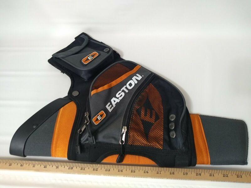 Easton Flipside 4-Tube Hip Quiver Orange Grey Black