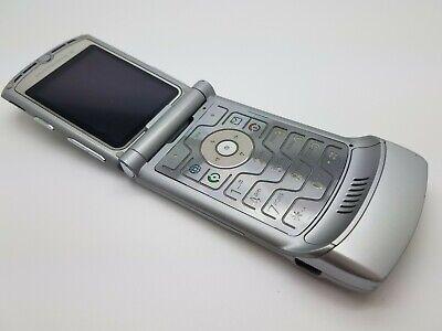 Motorola RAZR V3 - Silver/Black (Vodafone/Talkmobile) Mobile Phone