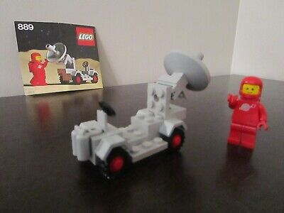 Vintage (1979) LEGO Classic Space set 889 Radar Truck - VERY RARE