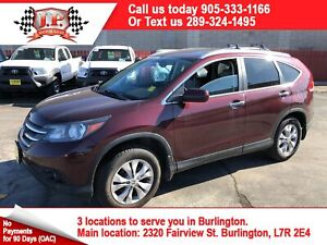 2014 Honda CR-V Touring, Navigation, Leather, Sunroof, AWD