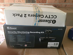 Swann Security monitoring recording kit Raby Campbelltown Area Preview