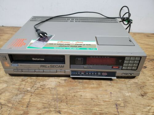 Sony SL-T20ME PAL SECAM Betamax Videorecorder