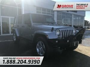 2014 Jeep WRANGLER UNLIMITED Sahara| 4X4| Leather| DVD| Remote S