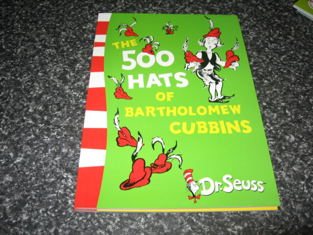THE 500 HATS OF BARTHOLOMEW CUBBINS BY DR SEUSS BRAND NEW SOFTCOVER