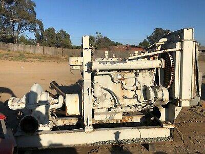 Waukesha F817gu Gas Engine Clean 817 Truck Fwd Industrial Tractor Water Pump