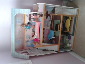 Real Wood Dollhouse