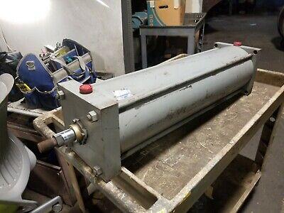New Miller Pneumatic Cylinder 6 Bore X 29 Stroke 100 Psi 34 Npt Ports 64b2n