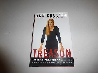 Treason Liberal Treachery By Ann Coulter   2003 Hbdj New  B37