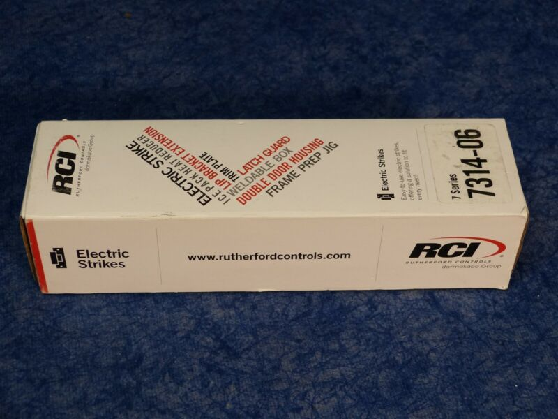 RCI Rutherford Controls 7314x06x32D Stainless Steel Electric Strike 12VDC