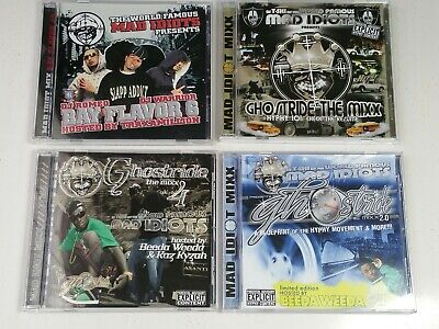 Mad idiots ghostride mixx hyphy rap hip hop mixtape cd lot thizz bay area 2007