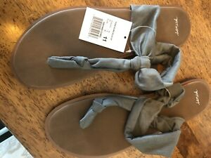 Sanuk size 11 yoga sling sandal
