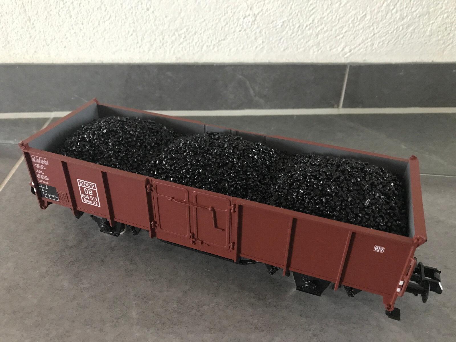 Kohleladung Ladegut Ladeeinsatz Märklin OMM55 Güterwagen OMM53