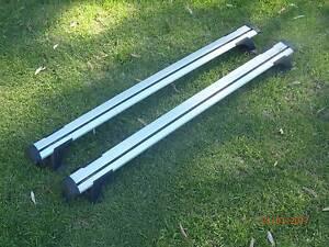 Toyota Hilux Roof Racks Pro Rack Whispbar Alloy Thru Bars Pair of Paralowie Salisbury Area Preview