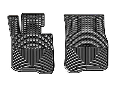 WeatherTech All Weather Floor Mats for BMW 4 Series 2014 2019 1st Row  Black