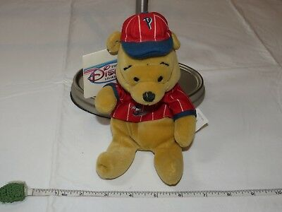 Winnie the Pooh Disney Store mini Bean bag baseball 8