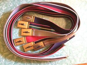 Lacoste Sears belts / ceintures vintage 1980's ceinture