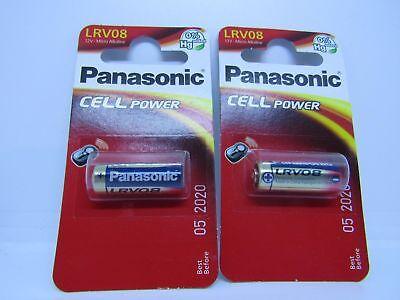 4 X  Panasonic LRV08 MN21 23A L1028 A23 23AE 12v - Door Bell