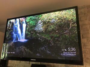 "50"" Samsung plasma tv 1080 p"