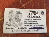 WHITE GLOVE CLEANING