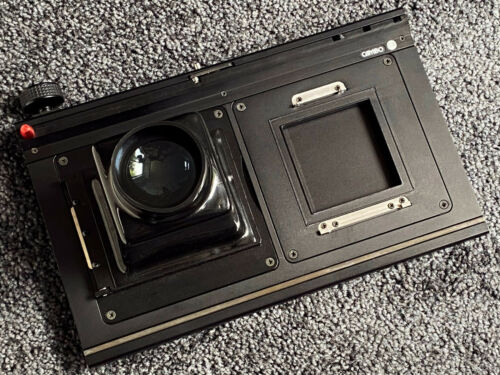 Cambo Ultima 23 CMSLB-69 Sliding/Stiching Adapter w/Mag Hood, Hasselblad V Plate
